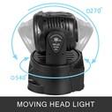 GOLD AUDIO GT-S41 7*12W LED MOVING HEAD SAHNE IŞIĞI - Thumbnail