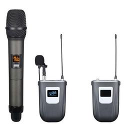 GOLD AUDIO GX-892 UHF ÇİFT KAFA TELSİZ MİKROFONU