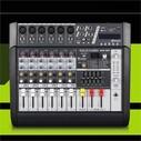 GOLD AUDIO MX-6P 6 KANAL POWER MİXER ANFİ - Thumbnail