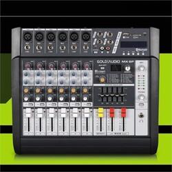 GOLD AUDIO MX-6P 6 KANAL POWER MİXER ANFİ