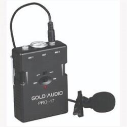 GOLD AUDIO PRO-17 YAKA MİKROFON