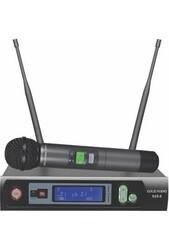 GOLD AUDIO S-25E TEK EL UHF TELSİZ MİKROFONU