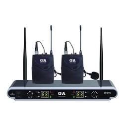 GOLD AUDIO U-616YY ÇİFT YAKA UHF TELSİZ MİKROFONU
