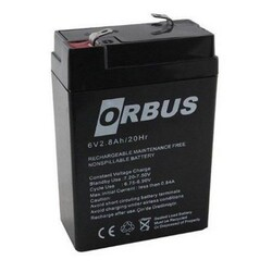 ORBUS 6V 2,8A KURU AKÜ
