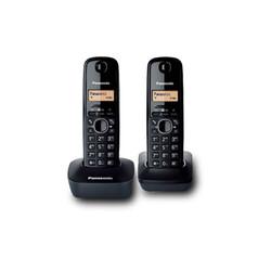 PANASONIC KX-TG1612 SİYAH TELSİZ TELEFON