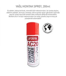 PROLİNK AC-20 YAĞLI KONTAK TEMİZLİK SPREYİ 200ML.