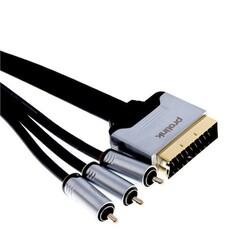 PROLİNK HMC238-0150 1.5MT. SCART - 3 RCA KABLO