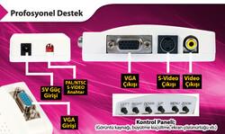 S-LİNK SL-AV201 PC TO TV CONVERTER