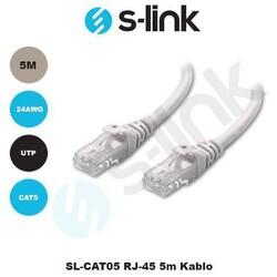 S-LİNK SL-CAT05 5 MT CAT5 KABLO