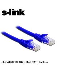 S-LİNK SL-CAT606BL 0.6 CM GRİ CAT6 KABLO