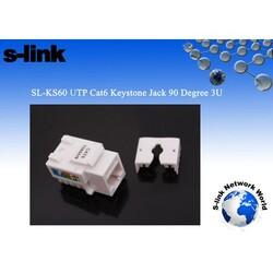 S-LİNK SL-KS60 CAT6 UTP KEYSTONE JACK