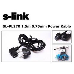S-LİNK SL-PL270 1,5MT 3X0,75MM L TİP POWER KABLO