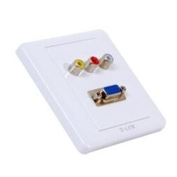 S-LİNK SL-PRZ16 VGA+RCA KANAL ÜSTÜ PRİZ