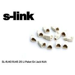S-LİNK SL-RJ40 8P8C PLASTİK BOOT