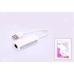 S-LİNK SL-U60 USB 2,0 TO RJ45 WİN10 UYUMLU ADAPTÖR