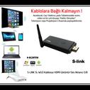 S-LİNK SL-W10 KABLOSUZ HDMI GÖRÜNTÜ AKTARICI - Thumbnail